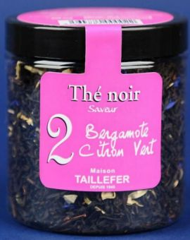 Ceai negru aromatizat bergamota lime 60G