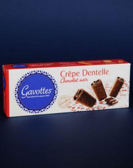 Clatite dantelate cu ciocolata neagra 90G