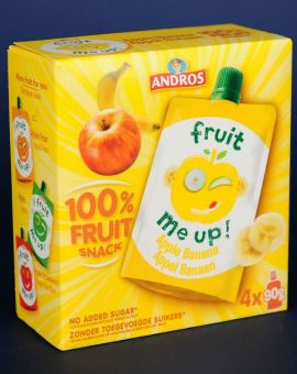 Fruit Snack Banana 4*90G