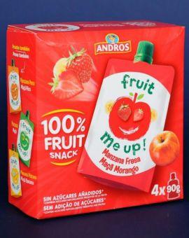 Fruit Snack Mere Capsuni 4*90G