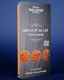 Medalion Ciocolata Cu Lapte Si Caramel 75G