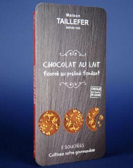 Medalion Ciocolata Lapte Si Alune 75G