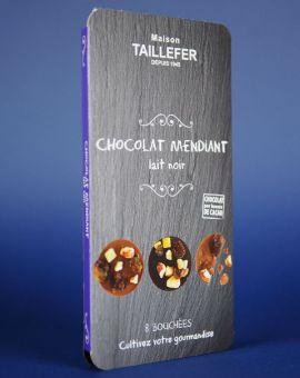 Medalion Ciocolata Neagra Cu Lapte Si Fructe 75G