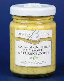Mustar Gastronomic cu Coriandru si Portocale Confiate 100G