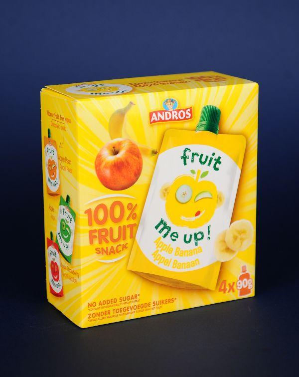 Fruit Snack Banana 4*90G