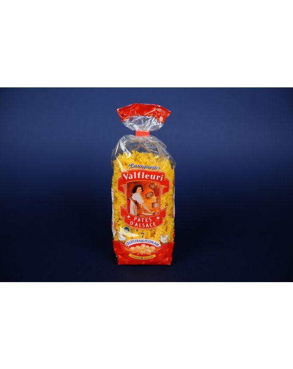 Lasagnettes 250 gr, 7 oua/kg