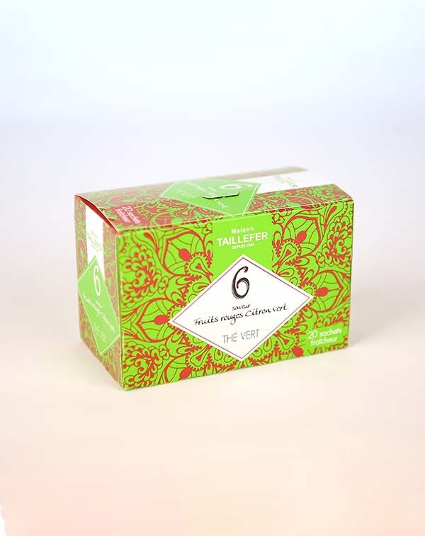 Ceai verde fructe de padure in saculet