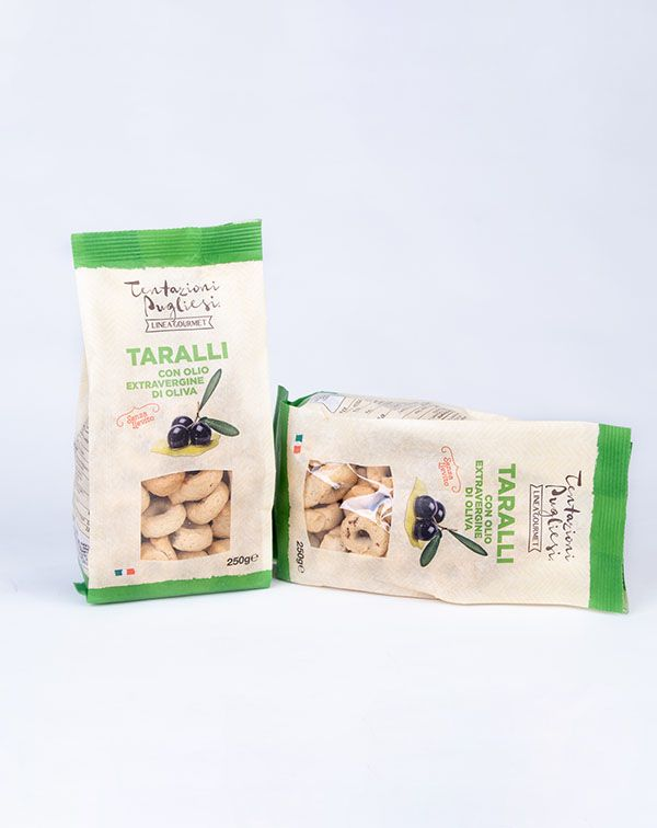 Taralli Gourmet Cu Ulei Extra Vergin De Masline 250GR