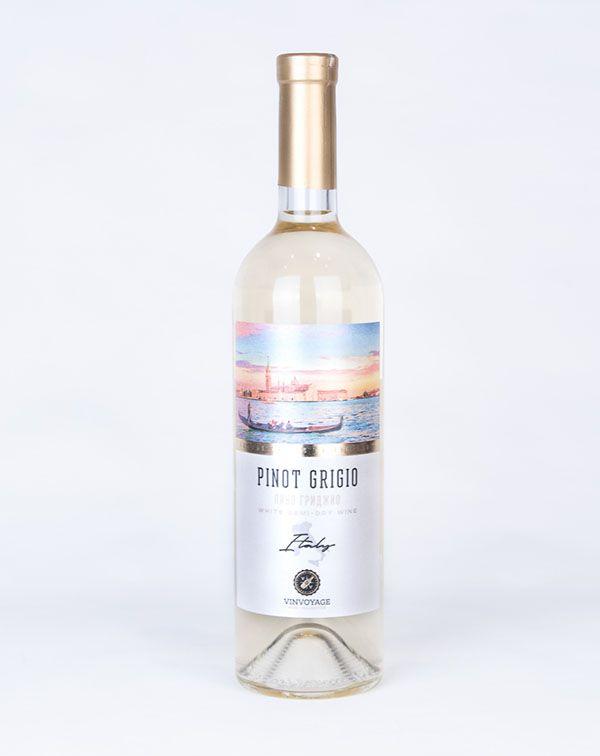Vin Pinot Grigio Alb Demisec 750ML