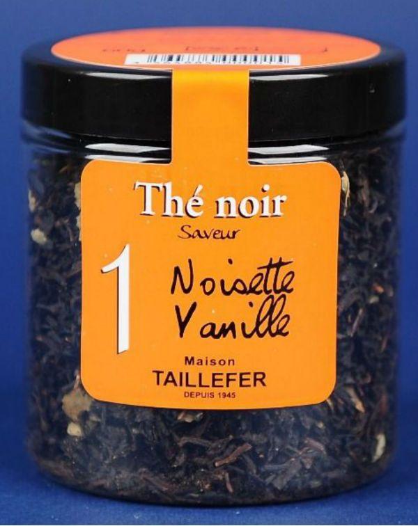 Ceai negru aromatizat alune vanilie 60G