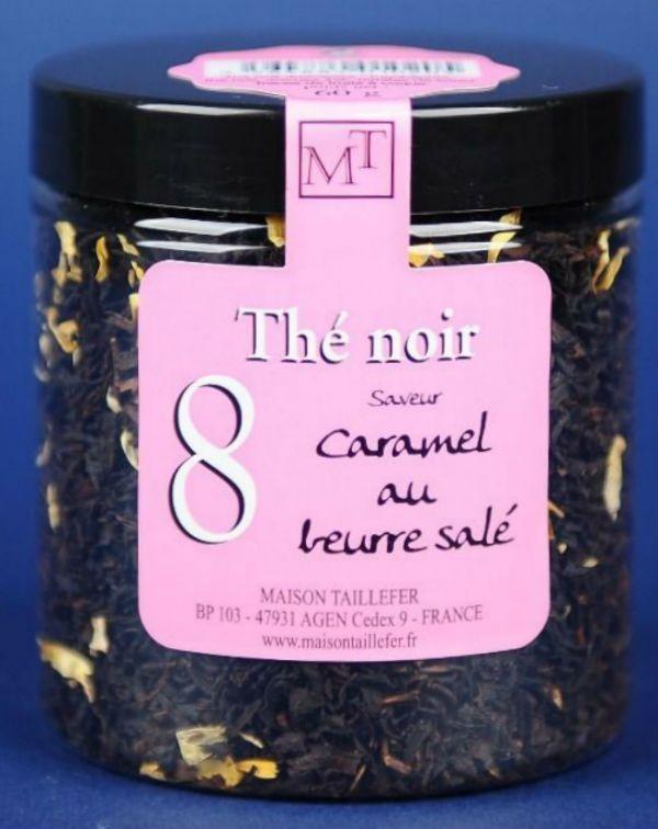 Ceai negru aromatizat caramel 60G