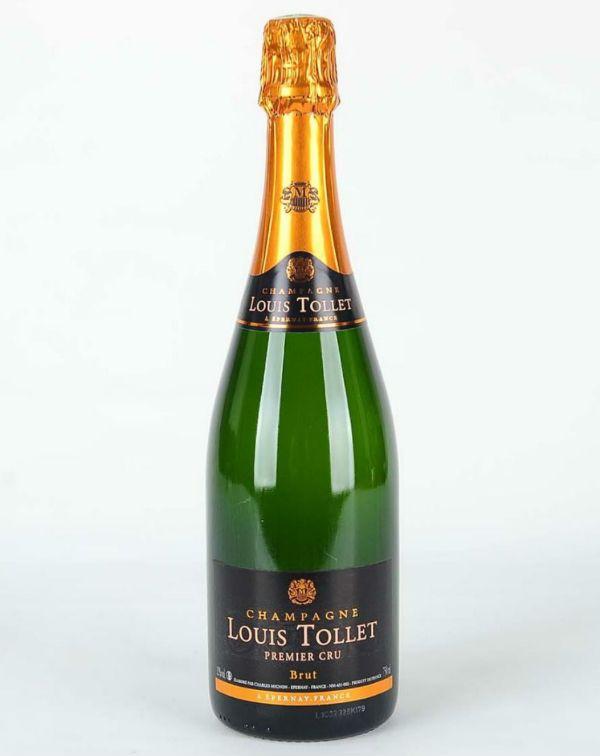 Champagne Brut Louis TOLLET 1er cru 750ML