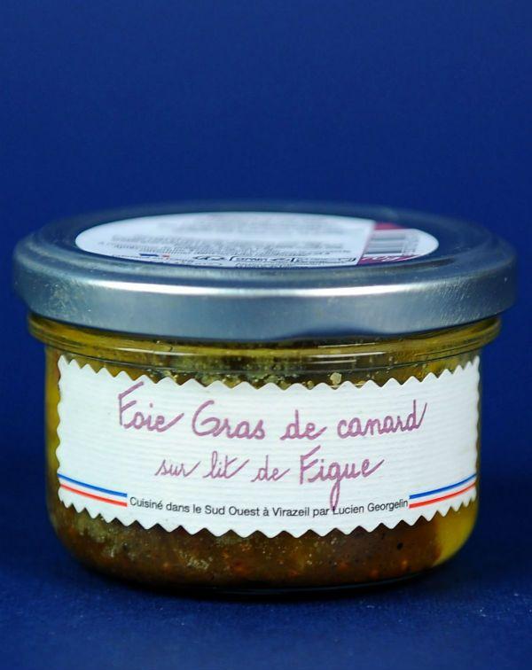 Delice Foie Gras pe pat de Smochine 70G