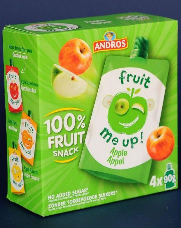 Fruit Snack Mere 4*90 Gr