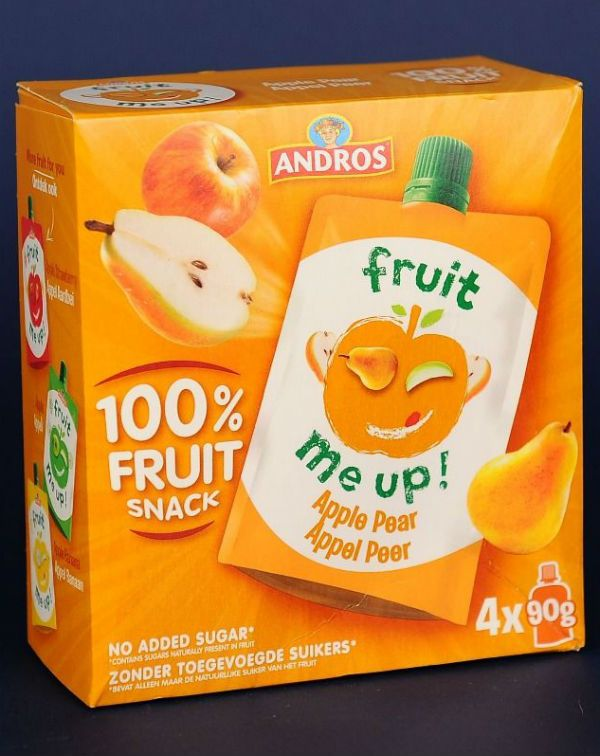 Fruit Snack Mere Pere 4*90 Gr