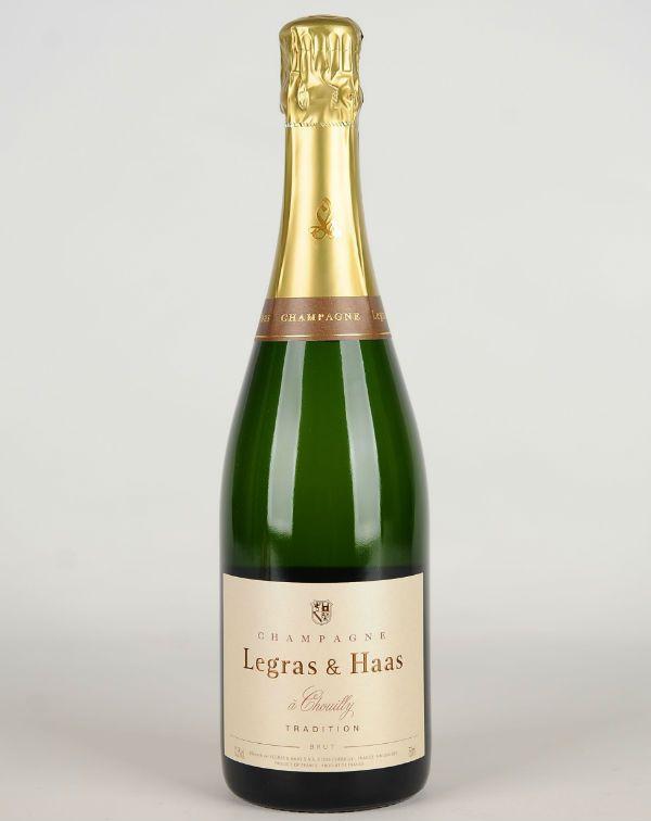 Legras & Haas, Champagne Brut 750ML
