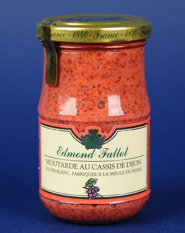 Mustar Dijon cu coacaze Fallot 205G