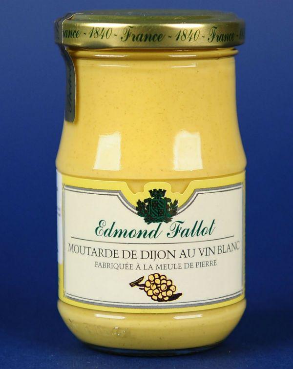 Mustar Dijon Cu Vin Alb Fallot 210G