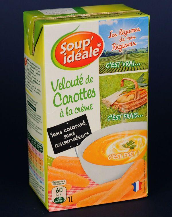 Veloute de carotte crème fraiche 1l